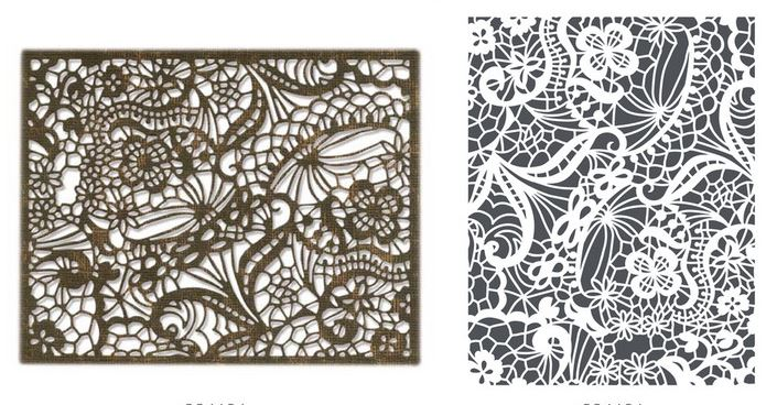 Sizzix Thinlits Alterations Intricate Lace Die Set