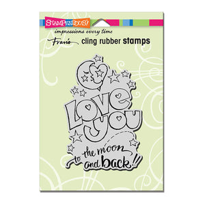 Great Big Love Stampendous Cling Stamp - Scrap of Paradise