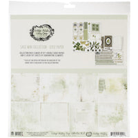 "49 and Market 12""x 12"" Collection Pack Vintage Artistry Sage"