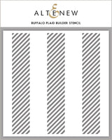 Altenew Buffalo Plaid Builder Stencil