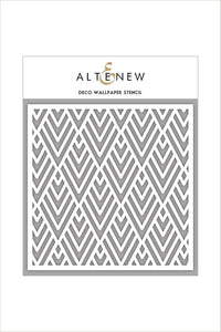 Altenew Deco Wallpaper Stencil
