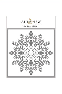 Altenew Leaf Burst Stencil