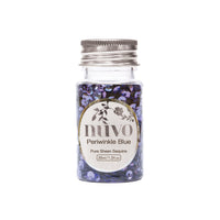 Nuvo Pure Sheen Confetti Periwinkle Blue 35ml
