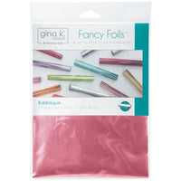 "Gina K Fancy Foils Bubblegum 12 6"" x 8"""