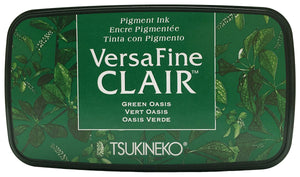 Versa Fine Clair Ink Pad Green Oasis