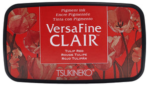 Versa Fine Clair Ink Pad Tulip Red