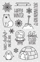 Pretty Pink Posh Stamp Set - Winter Wonderland