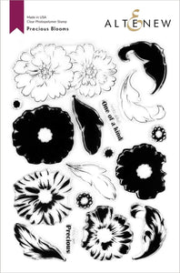 Altenew Precious Blooms Stamp Set