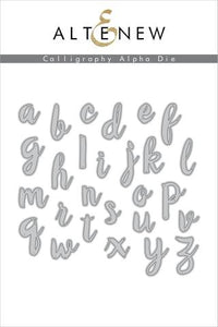 Altenew Calligraphy Alpha Die