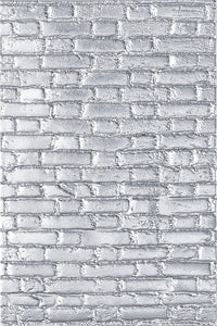 Sizzix 3D Texture Fades Embossing Folder By Tim Holtz Brickwork