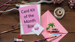 Card Kit of the Month Box - 3 months SUBSCRIPTION