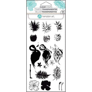 Hampton Art Stamp Set Layered Tropical
