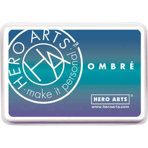 Hero Art Ombre Ink Pad Mermaid
