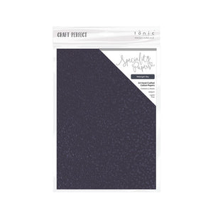 "Tonic Cotton Paper Pack Midnight Sky 8.5"" x 11"""