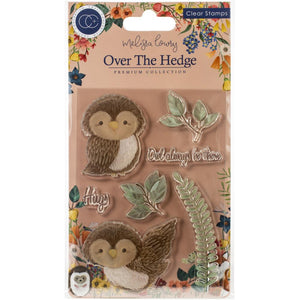Craft Consortium A5 Clear Stamps Over the Hedge Olivia the Owl