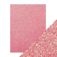 "Tonic Glitter Card Stock Paper Pack Opulent Orchid 8.5"" x 11"""