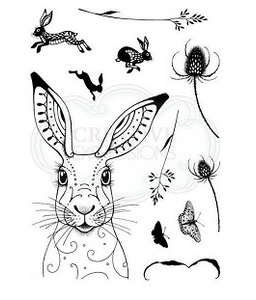Pink Ink Designs Hare