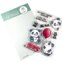 Lovely Pandas Gerda Steiner Designs Stamp