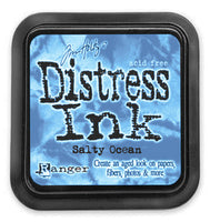 Salty Ocean Distress Ink
