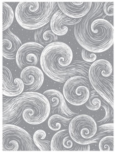 Spellbinder Wind & Water Embossing Folder