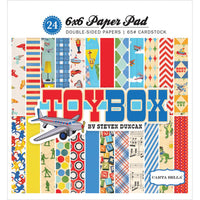 Carta Bella Toy Box 6 x 6 Paper Pad