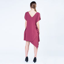 Load image into Gallery viewer, Elyse Dress | Wine