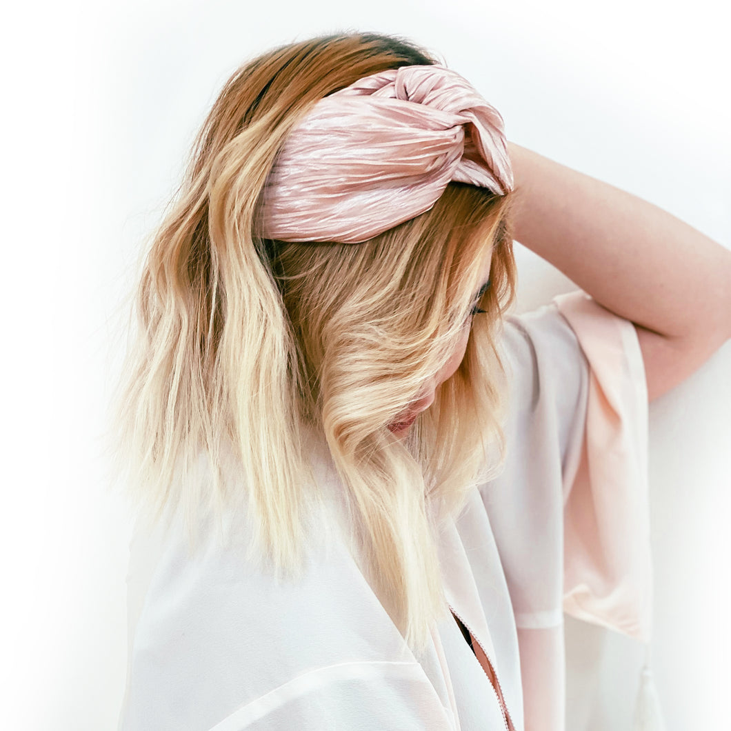Twist Pleated Headband | Petal