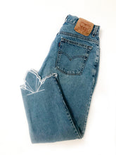 Load image into Gallery viewer, Embroidered Vintage Jean | High-Waisted & Mid-Wash
