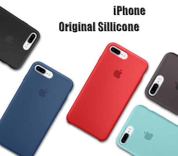 Apple Silicone Back Cases