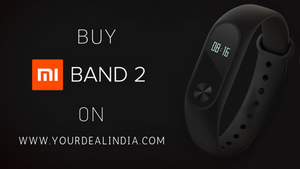 Buy Mi Band 2 Smart Watch Fitness Band online in India on Yourdeal India
