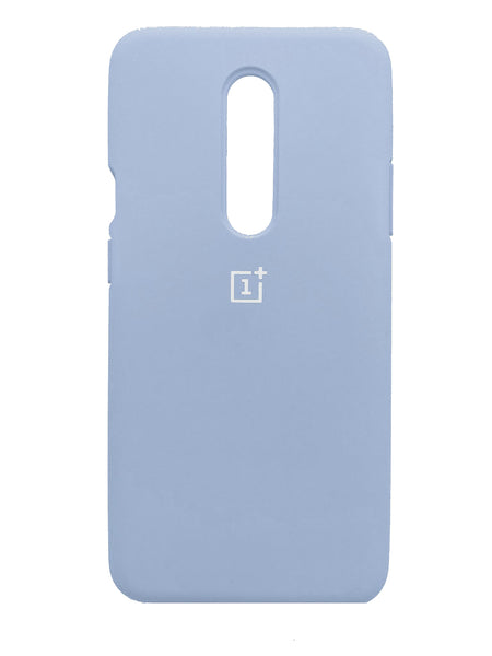 TDG Oneplus 7 Pro Back Cover Silicone Protective Case Sky Blue