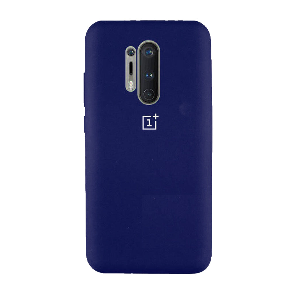 Silicone Case for Oneplus 8 Pro OG Silicone dark blue