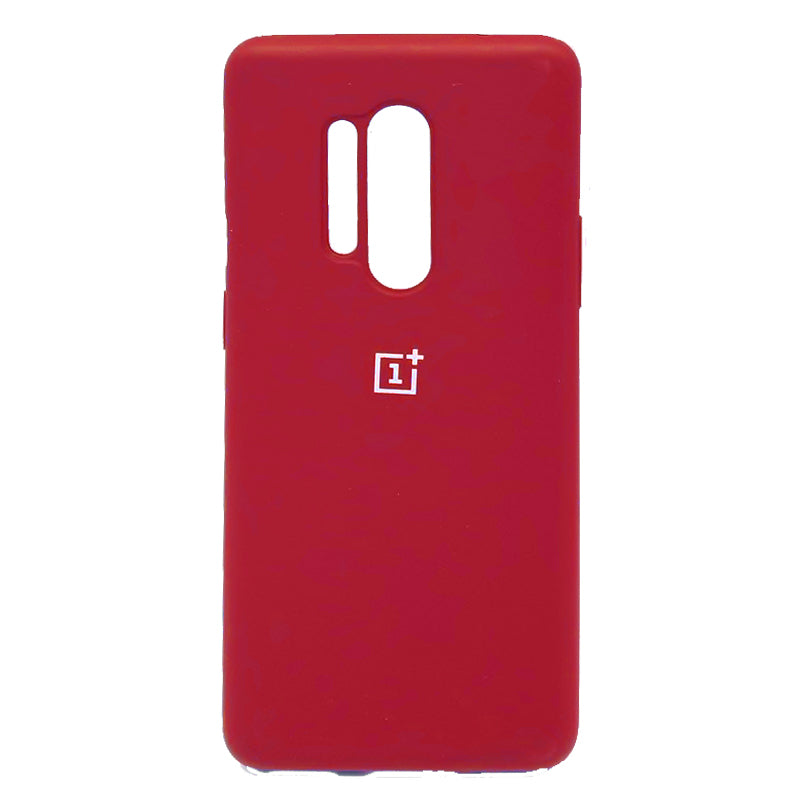 Oneplus 8 Pro OG Silicone Case Red