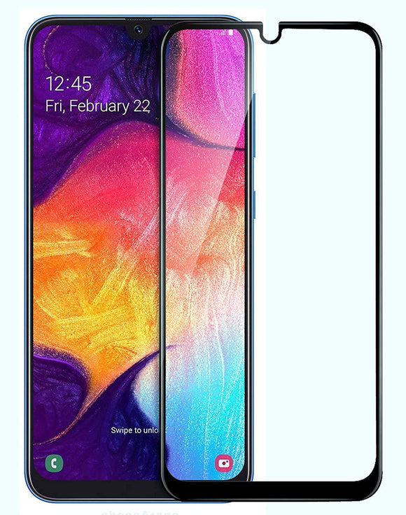 TDG 11D Edge to Edge Tempered Glass for Samsung Galaxy M30 Black - YourDeal India