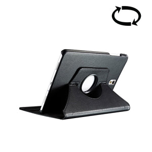 TDG 360 Degree Rotating Artificial Leather Flip Cover Case for Samsung Galaxy Tab S3 SM-T825 (Black) | YourDeal India