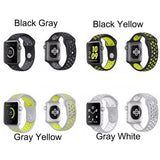TDG Replacement Sports Silicone Watch Strap 42mm for Apple Watch 1 2 3 - YourDeal India