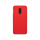 TDG Oneplus 6T OG Silicone Protective Back Case Red - YourDeal India