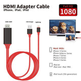 2M Lightning to HDMI 1080P HDTV MHL Cable Adapter For Apple iPhone iPad iPod - YourDeal India