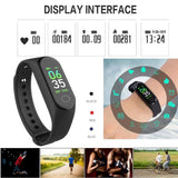 TDG M3 Band Fitness Tracker Smart Band Dark Blue - YourDeal India