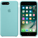 TDG OG SIlicone Case for Apple iPhone 7 Plus & iPhone 8 Plus Sea Blue Apple OG Silicon Back Case - YourDeal India