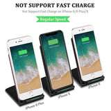 Qi Dual Coil Wireless Charger Desktop Stand for Apple & Samsung smartphones - YourDeal India