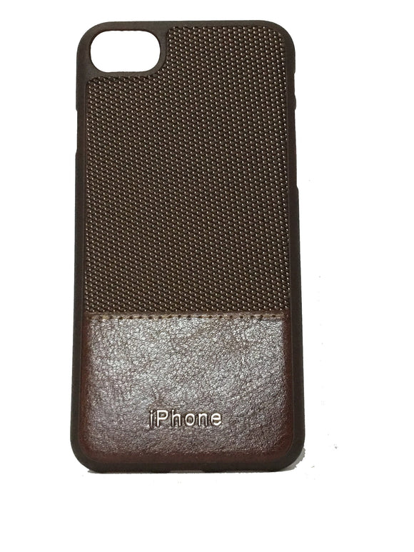 TDG Dual Tone Leather Back Cover For Apple iPhone 7 8 (Brown)  Back Cover - YourDeal India