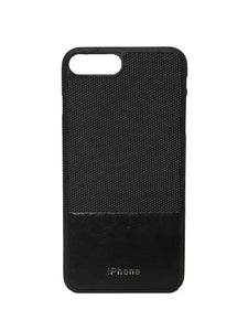 YourDeal Dual Tone Leather Back Cover For Apple iPhone 7 Plus & 8 Plus (Black) - YourDeal India