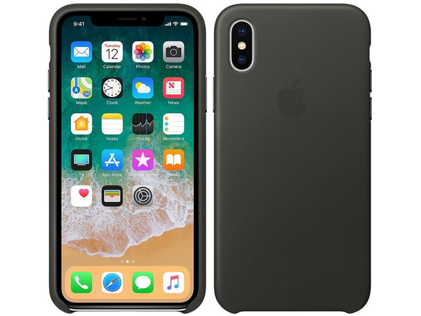 Silicone Case for Apple iPhone X XS - Black