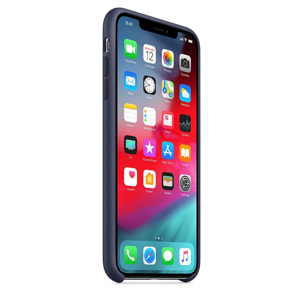 5e0649b9b7 ... TDG OG SIlicone Case for Apple iPhone XS Max Midnight Blue - YourDeal  India