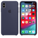 TDG iPhone XS Max SIlicone Case OG Midnight Blue - YourDeal India