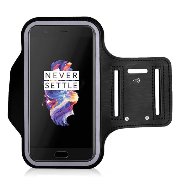 Sports Running Arm Band Case for OnePlus 6T Black | YourDeal India