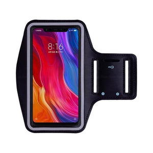 Sports Running Arm Band Case for Redmi Note 6 Pro Black | YourDeal India