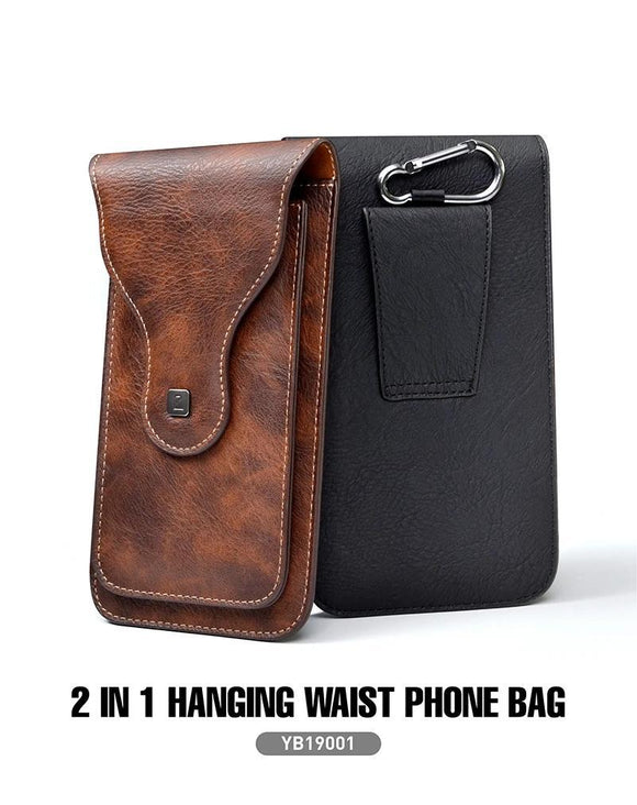 PULOKA 2 in 1 PU Leather Mobile Phone Pouch Holster for Oneplus 8 - YourDeal India