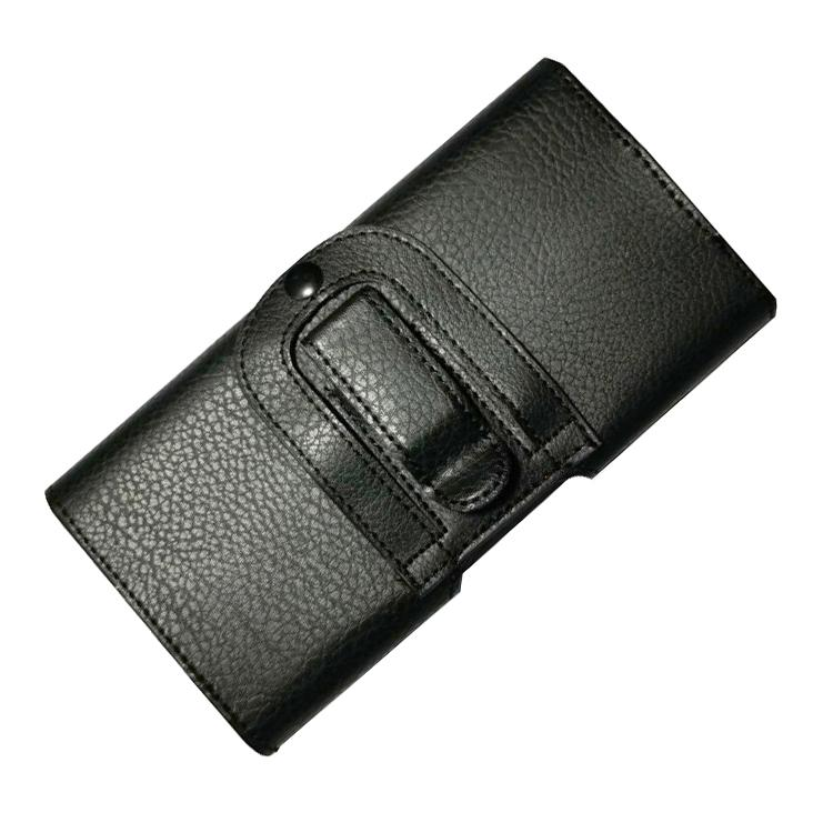 TDG  Pu Leather Belt Pouch Holster litchi texture Phone Case for Apple iPhone Smartphones & Mobiles